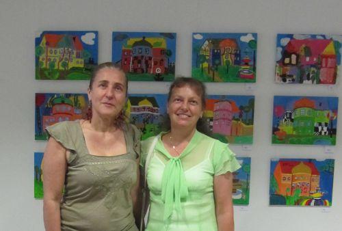 Frau Christina Weber und Frau Dr.Dorfmiller